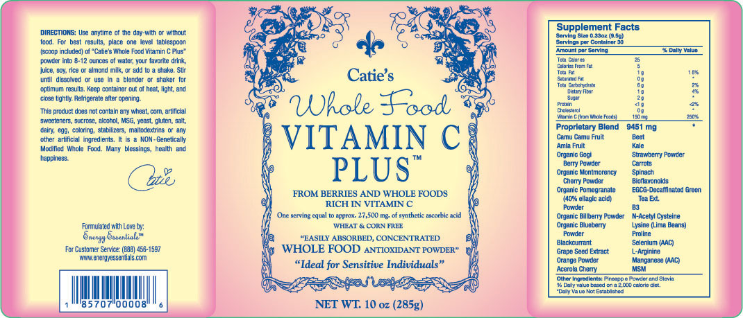 Caties organic whole food Vitamin C