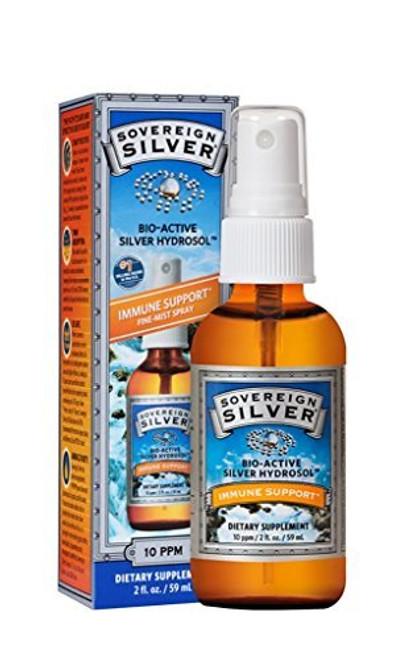 Sovereign Silver Bio Active Silver Hydrosol 2oz Fine