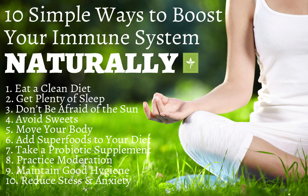 10 Ways to Boost Your Immune System Naturally