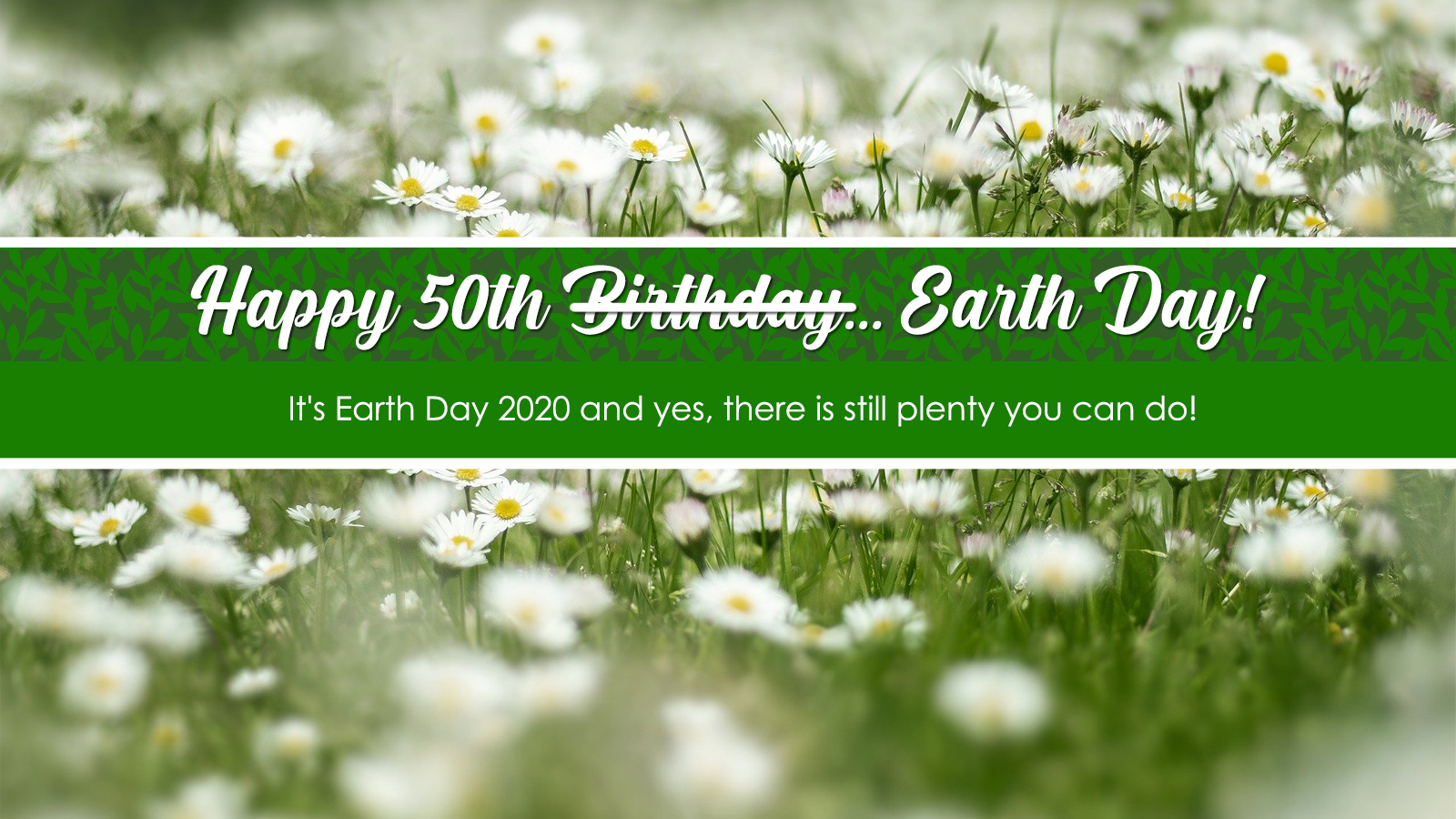It's Earth Day 2020 And Yes, There is Still Plenty You Can Do!