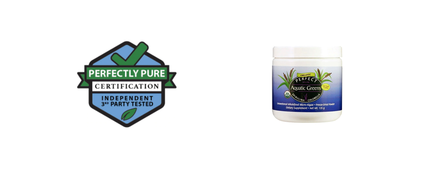 Perfectly Pure Aquatic Greens Powder