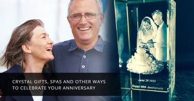 Crystal Gifts, Spas and Other Ways to Celebrate Your Anniversary