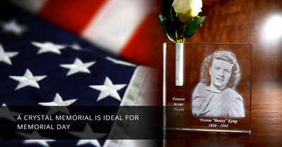 A Crystal Memorial is Ideal for Memorial Day