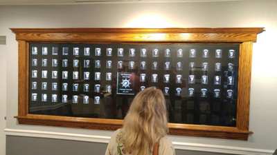 Crystal Prints Unveils Yacht Club Past Commodores Crystal Recognition Wall