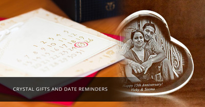 ​Crystal Gifts and Date Reminders