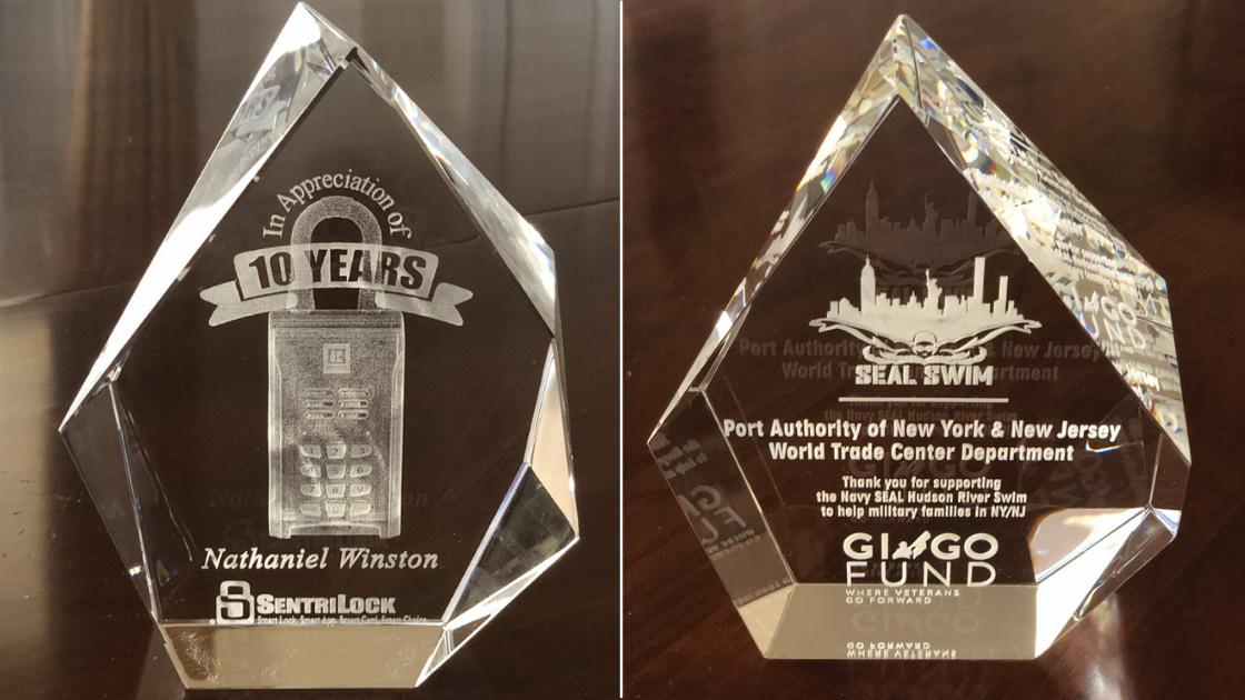 3D Crystal award prodcut