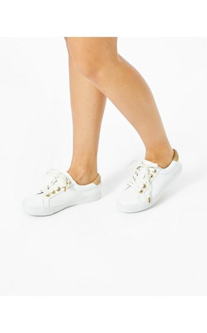 Lux Hallie Sneaker- White