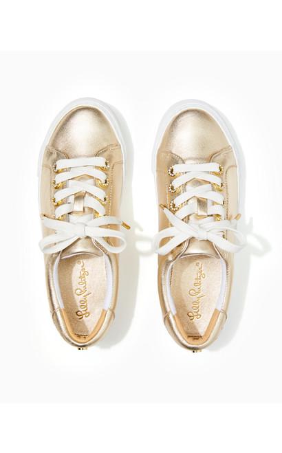Lux Hallie Sneaker Gold