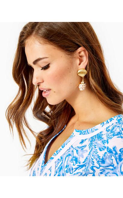 Shell Search Earrings