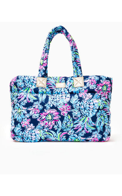 Polly Puffer Tote