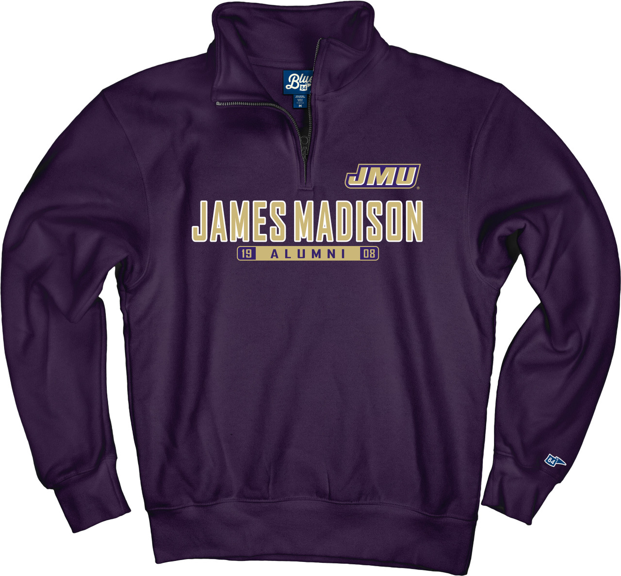 James Madison University JMU Baby and Toddler Polar Fleece Vest