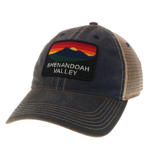 Navy OFA Trucker Hat with Shenandoah Valley