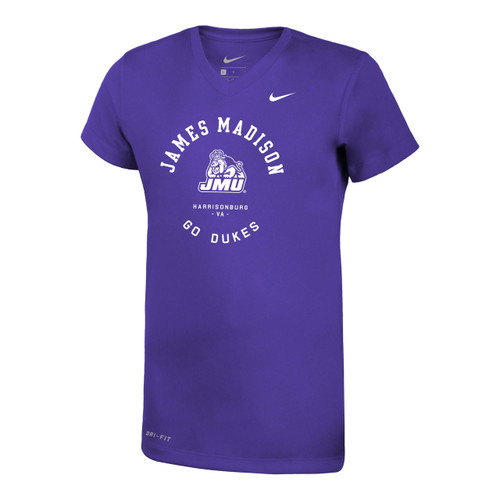 Nike Youth Legend Short Sleeve V-Neck Tee