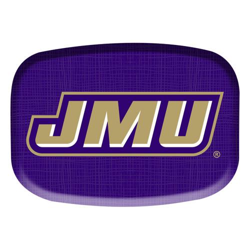"""14"""" Melamine Platter with JMU slant"""