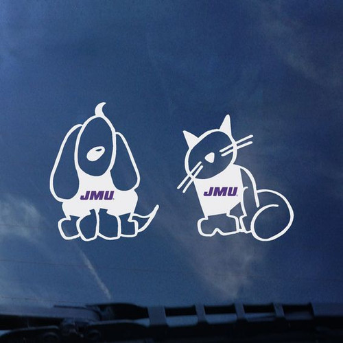 Cat & Dog Decal