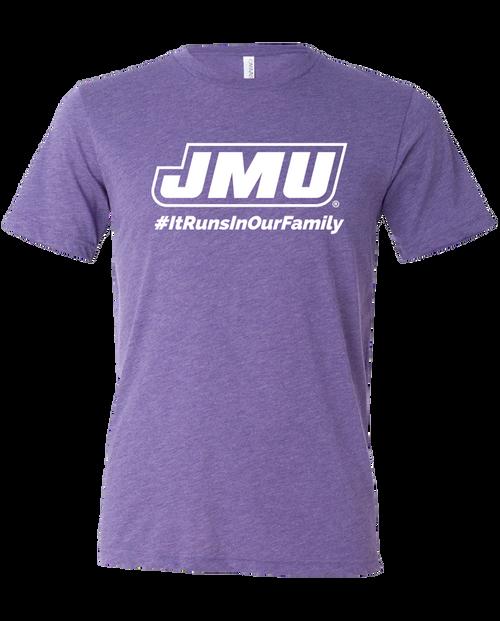 JMU #ItRunsInOurFamily Shirt