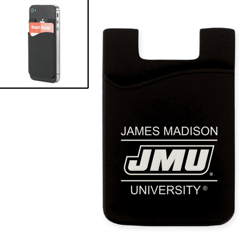 Cell Phone Card Holder - Black