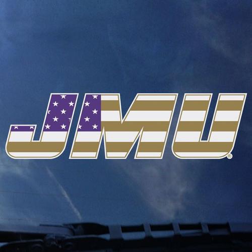 JMU Flag Decal