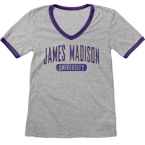 James Madison Stripe V-Neck