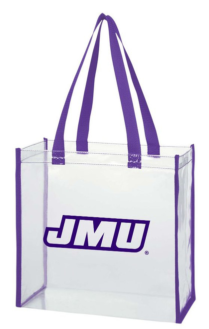 Clear Open Tote Bag