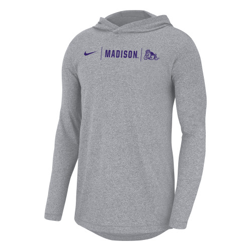 Nike Marled Long Sleeve Tee Hoodie