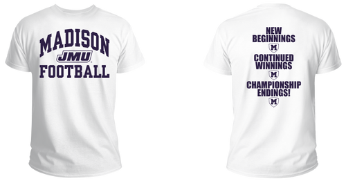 2019 Game Day WHITE OUT T