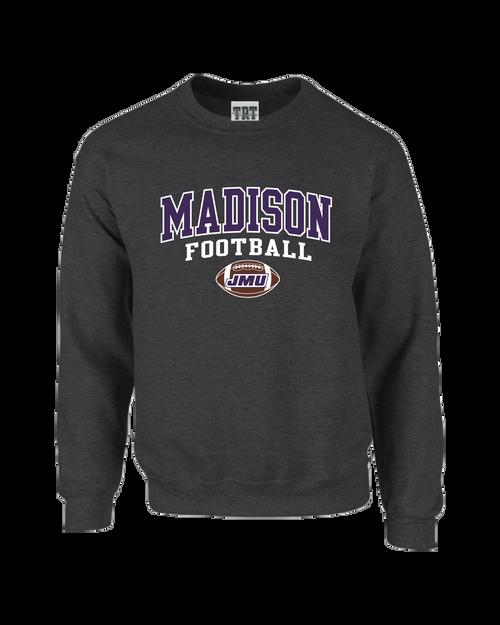 Madison Football Applique Crew Neck