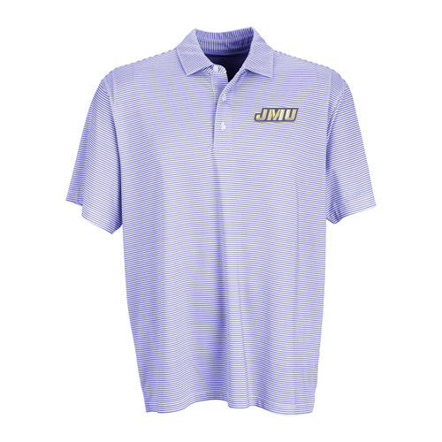 Micro-Purple Stripe Vansport Polo