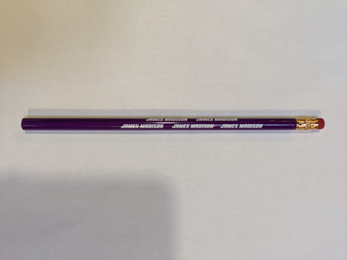 Logo Pencil Purple/White