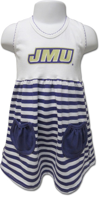 JMU Toddler Cotton Dress