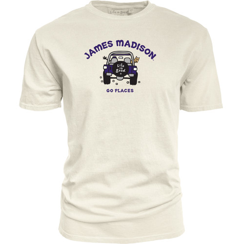 """James Madison """"Life is Good"""" Going Places"""
