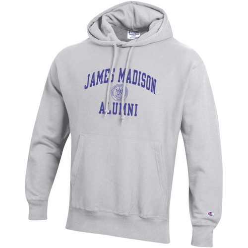 Champion Reverse Weave James Madison Alumni w/Crest Hood