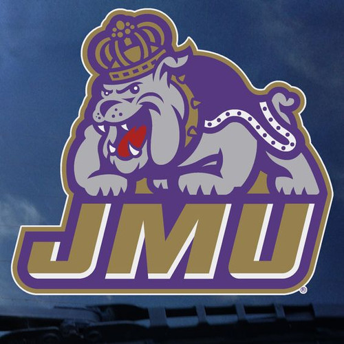 3XL JMU over Duke Dog Decal