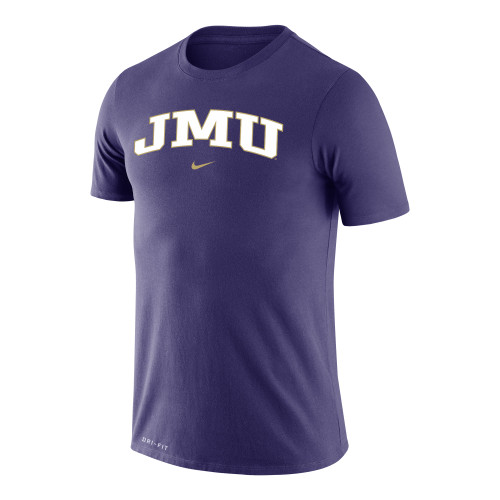 NIKE Mens Dri-Fit Legend Short Sleeve Tee Purple