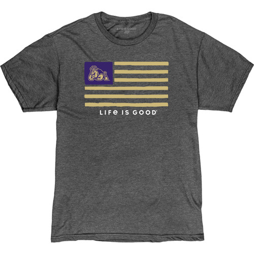 """James Madison """"Life is Good"""" Flag"""