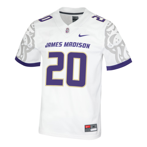 "THIS IS FOR REFERENCE ONLY. THE WHITE JERSEY IS ""1"" NOT"" 20"""
