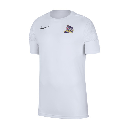 NIKE S20 Dri-Fit Coaches Short Sleeve - White