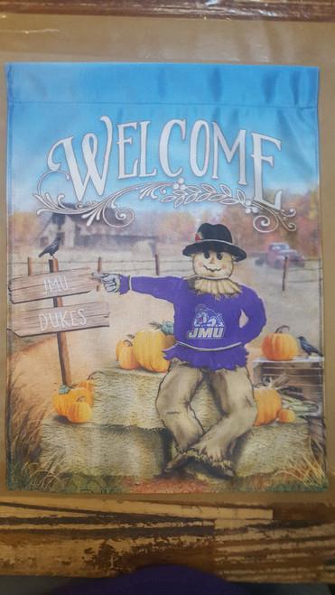 JMU Scarecrow Garden Flag