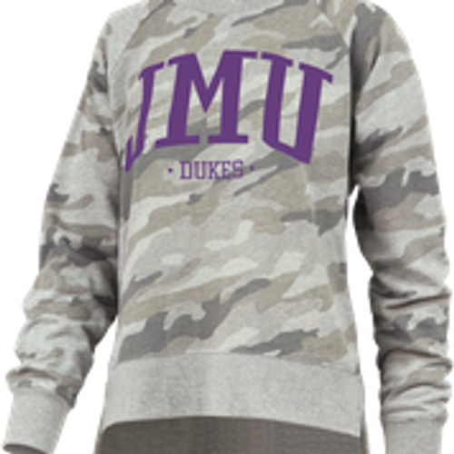 JMU Dukes Long Sleeve Camo Shirt