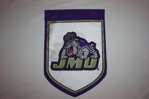 11 x 16 Double Sided with JMU Duke Dog Image