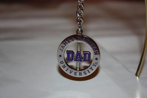 Dad Spinner Keychain