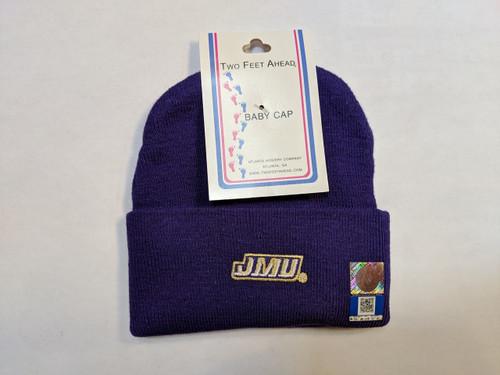 Purple Infant Knit Hat