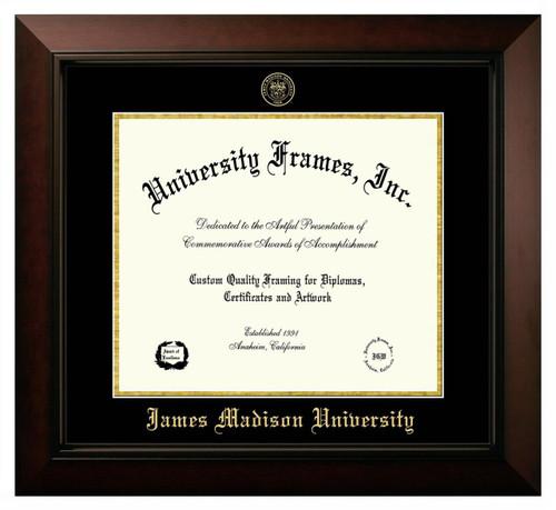 JMU Legacy Diploma Frame with Gold Foil