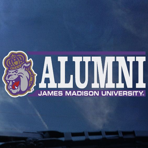 Alumni Decal-Duke Dog Head