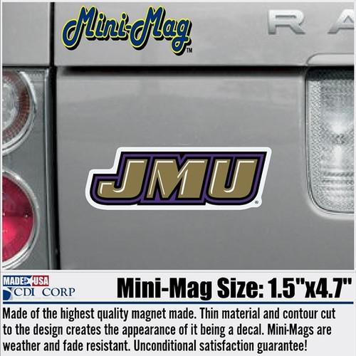 Mini Magnet-JMU Slant