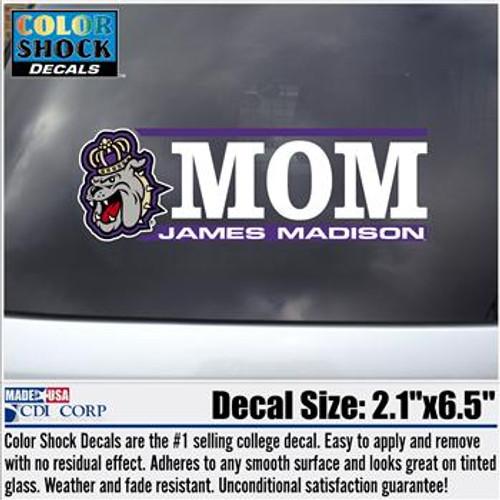 Mom Decal-Duke Dog Head