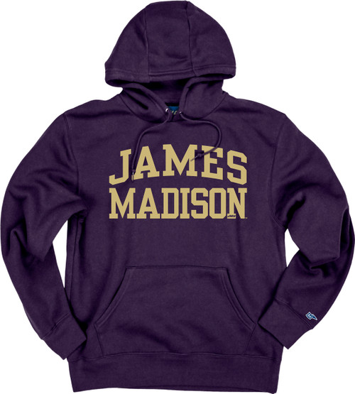 James Madison Purple Alpha Fleece Hood by Blue 84