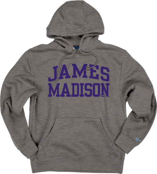 James Madison Graphite Alpha Fleece Hood by Blue 84