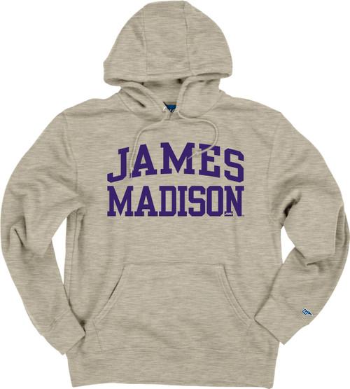 James Madison Oatmeal Alpha Fleece Hood by Blue 84