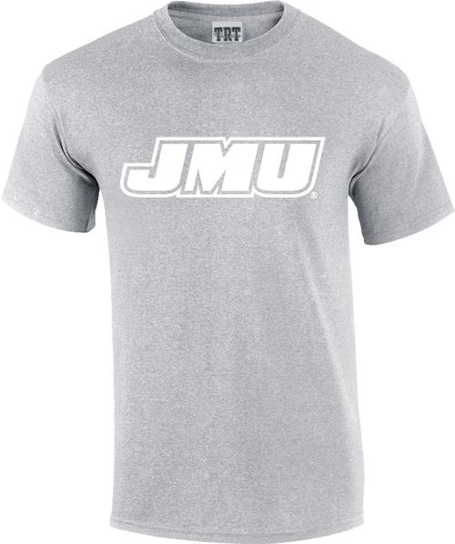 JMU Rainbow T's - Gray